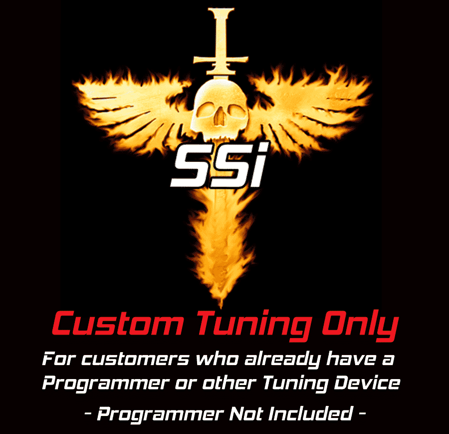 SSi Custom Tuning Only Purchases. Programmer not included