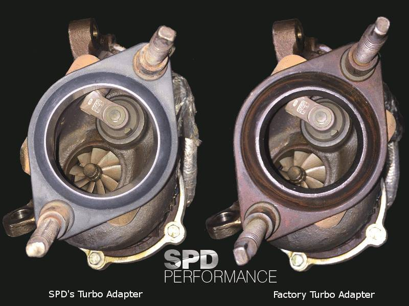 SSi Performance Tuning SPD Turbo Adapters for 2011- 2017 F150 3.5 Ecoboost