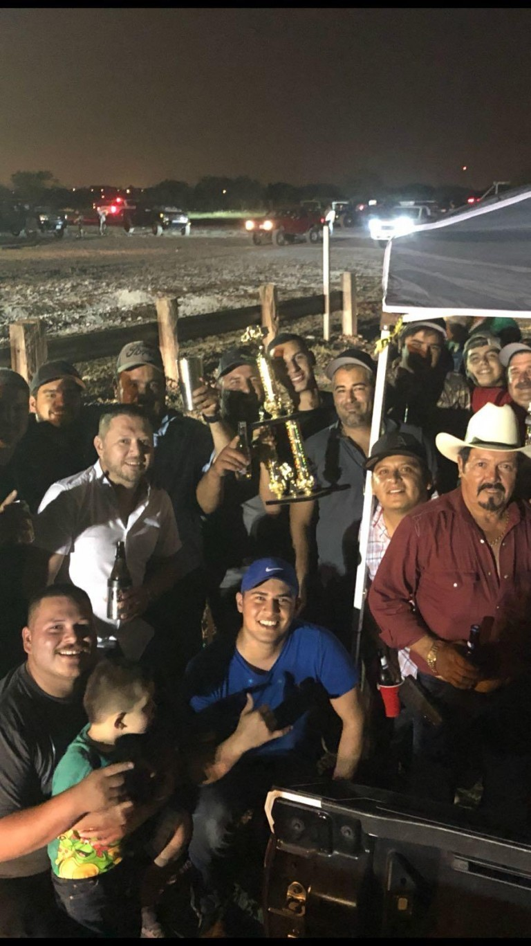 Ricky Wins Dirt Drag