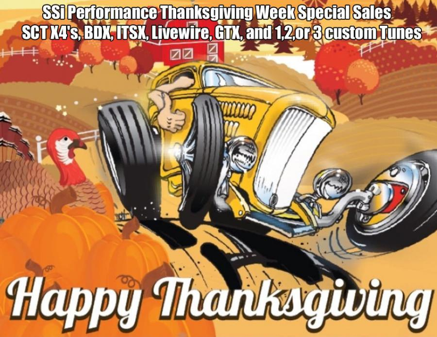 happy Thanksgiving from SSi